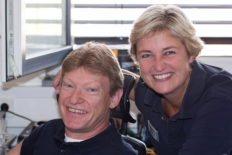 Peter Winter und Heike Hager