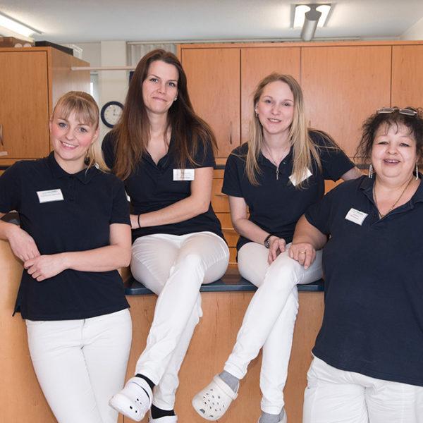 Kassandra Volkmann, Sarah Faus, Anja Glöckner, Christine Zimmermann