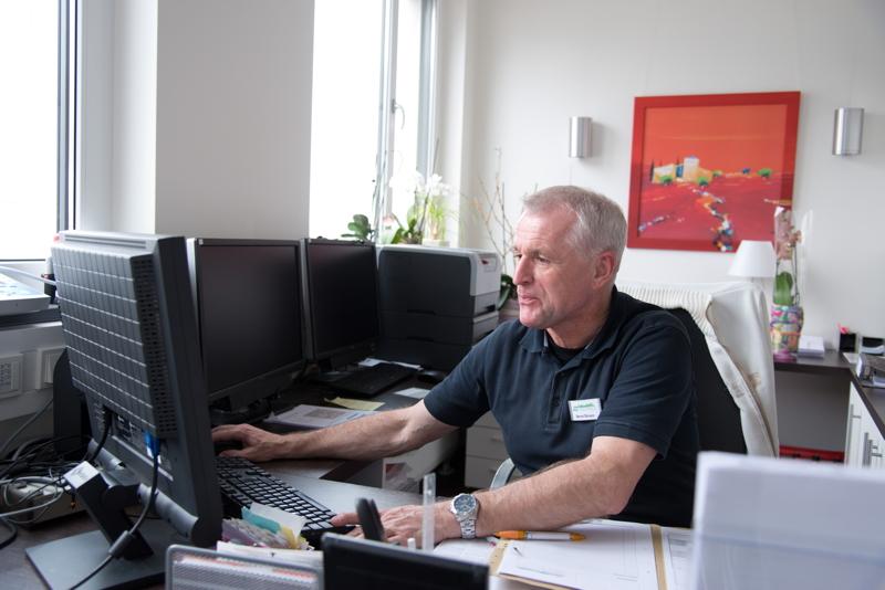 Pflegedienstleitung Bernd Straus