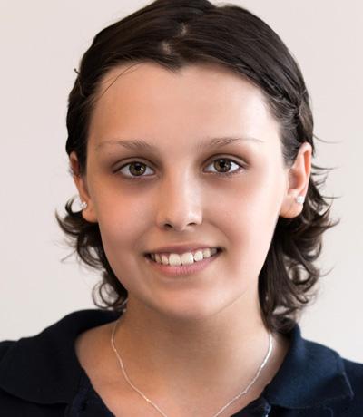 Gina Brandenburger, Azubi